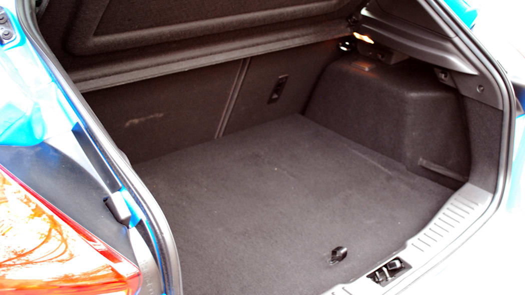 2016 Ford Focus RS rear cargo area