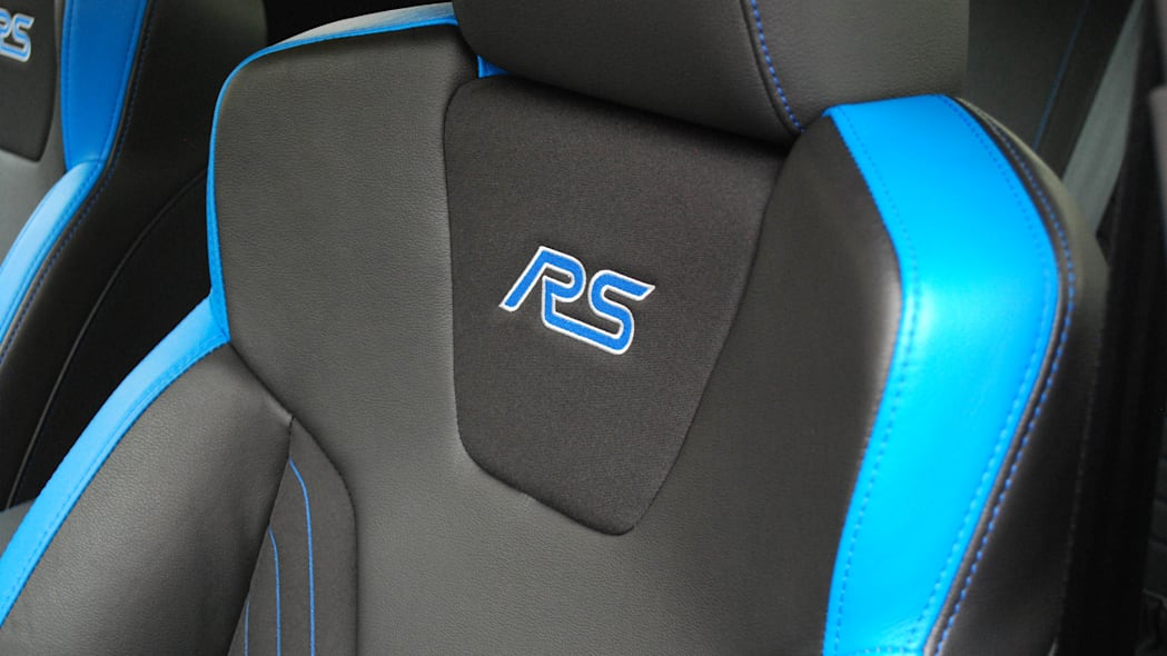 2016 Ford Focus RS seat detail