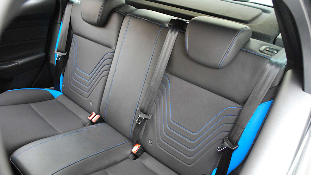 2016 Ford Focus RS rear seats