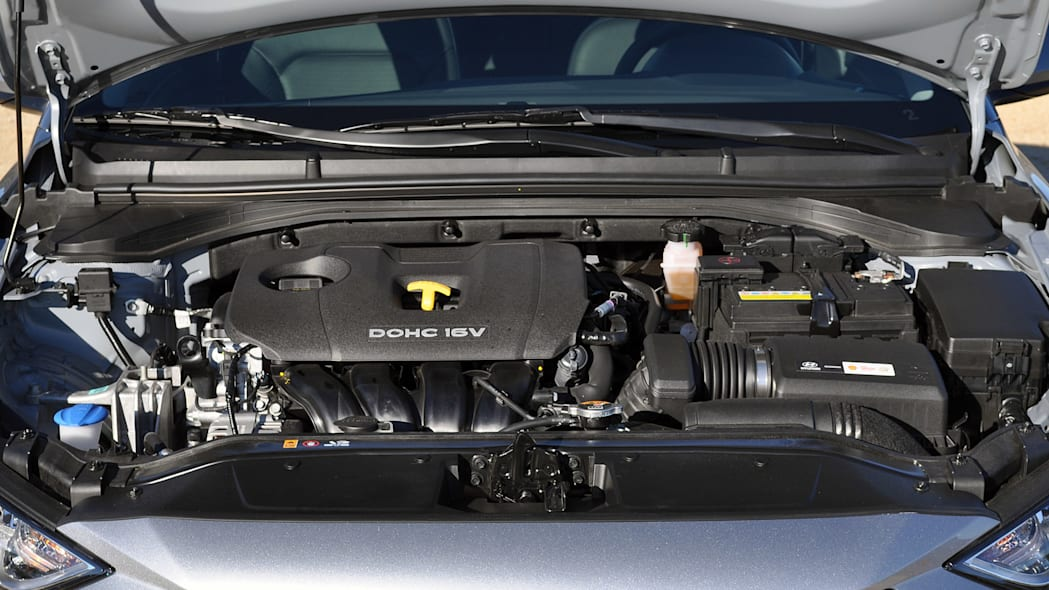 2017 Hyundai Elantra engine