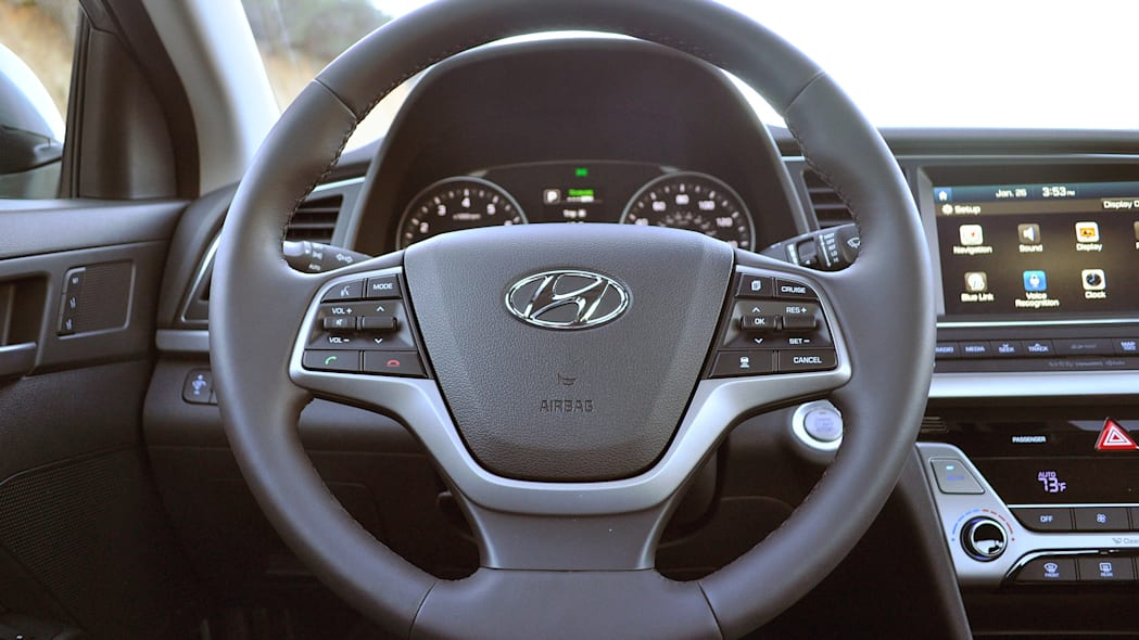 2017 Hyundai Elantra steering wheel
