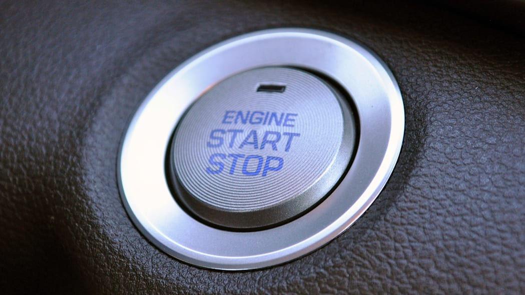 2017 Hyundai Elantra start button