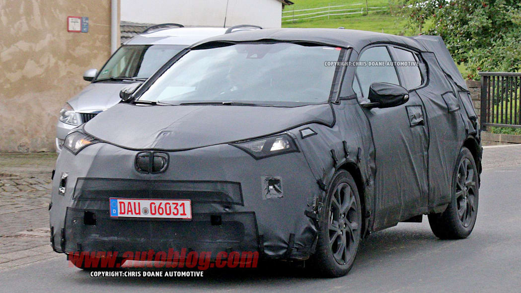 toyota c-hr spy shots
