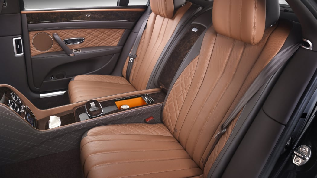 Bentley Flying Spur by Mulliner rear seats