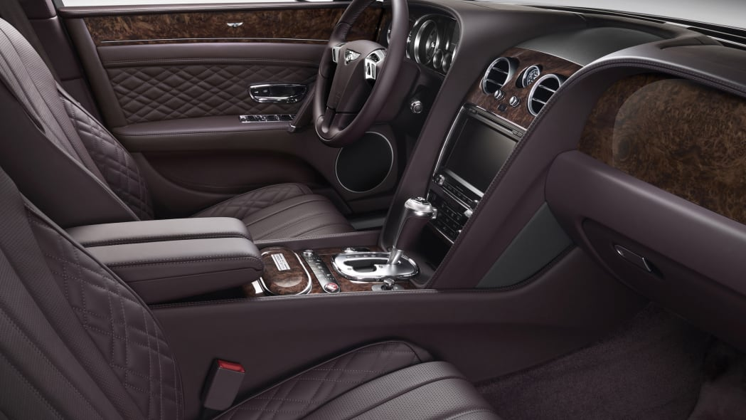 Bentley Flying Spur by Mulliner front seats