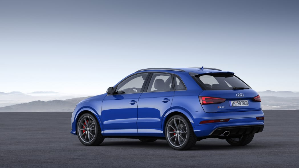 2016 Audi RS Q3 Performance static rear 3/4