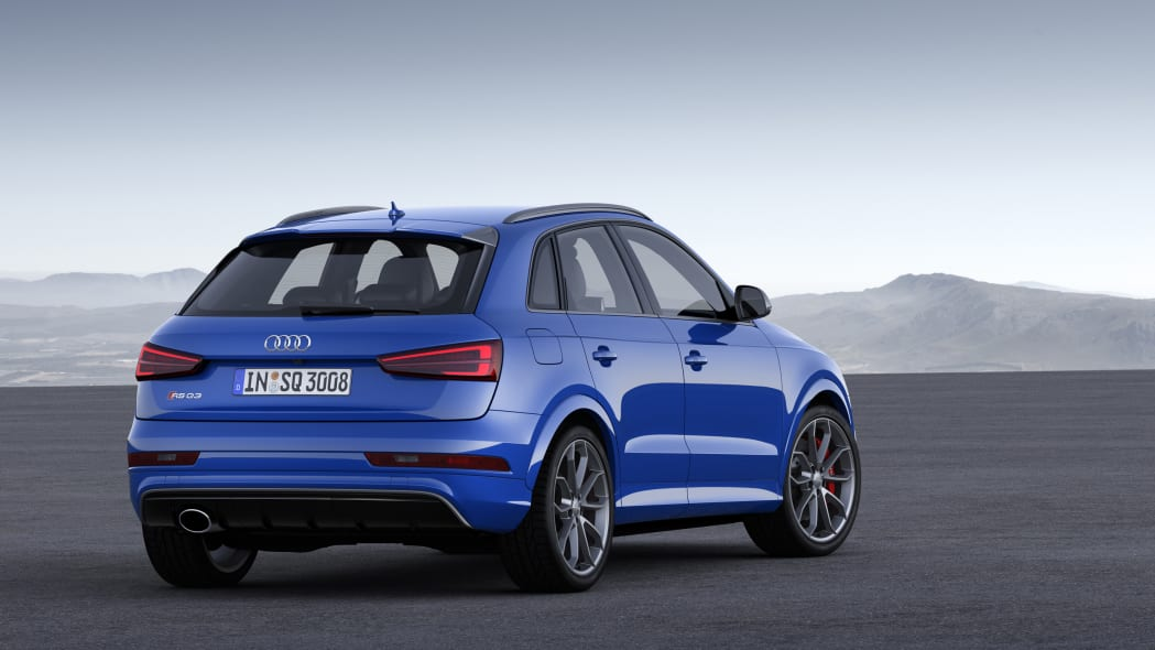 2016 Audi RS Q3 Performance rear 3/4