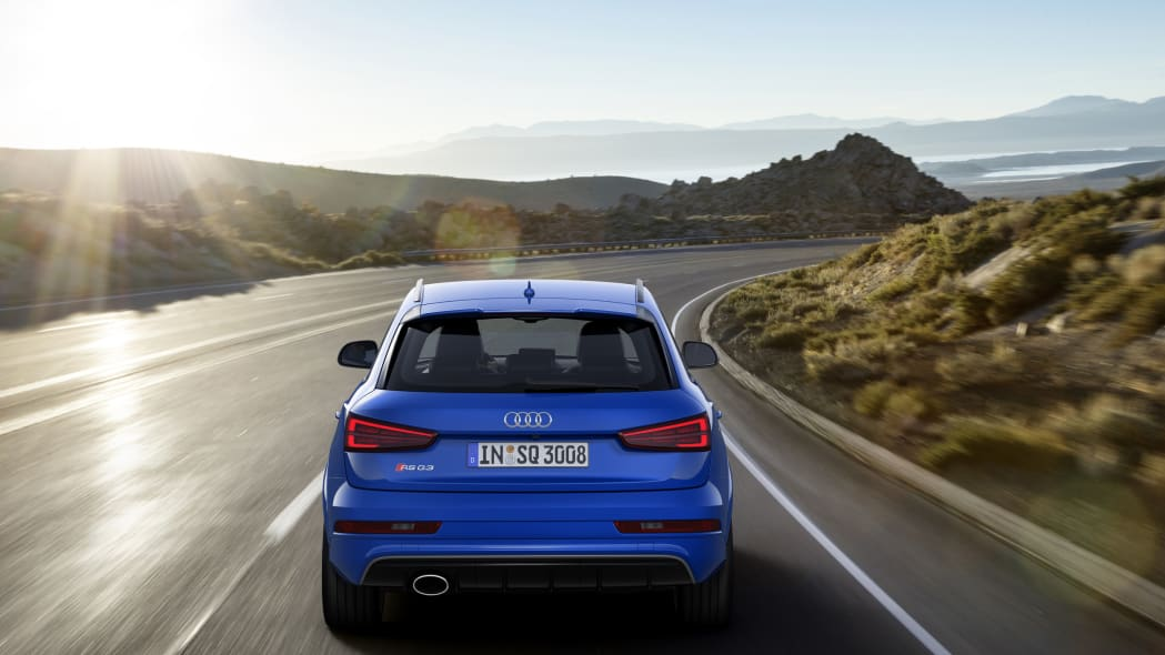 2016 Audi RS Q3 Performance moving rear