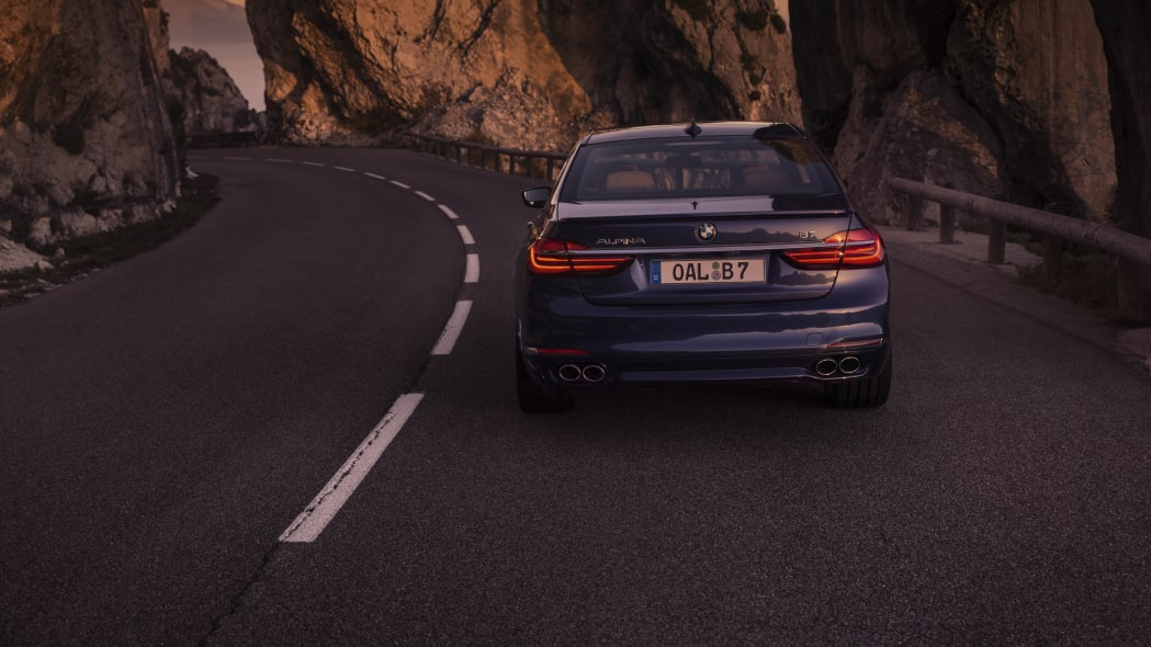 2017 BMW Alpina B7 xDrive dusk rear