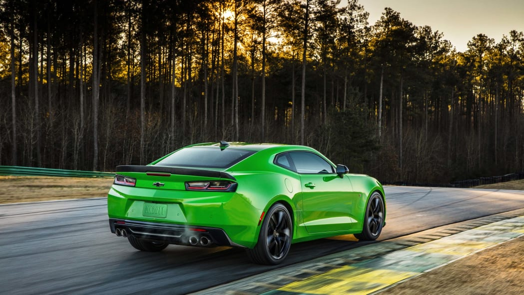 2017 Chevy Camaro 1LE rear