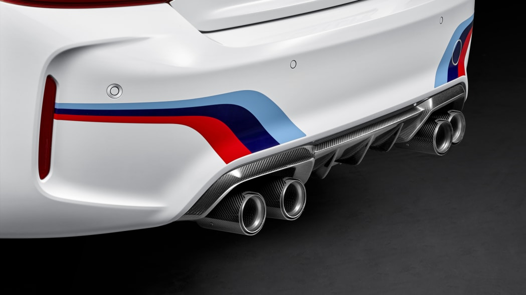 BMW M2 with M Performance Parts carbon exhaust