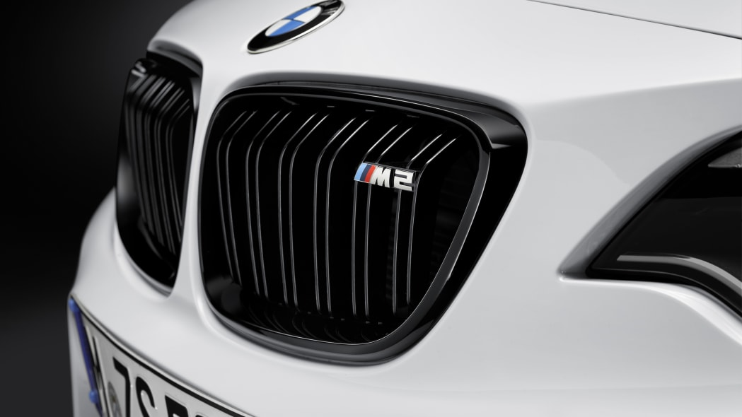 BMW M2 with M Performance Parts grille