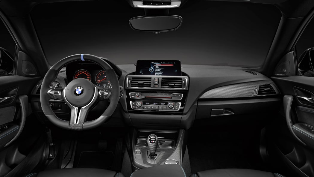 BMW M2 with M Performance Parts interior