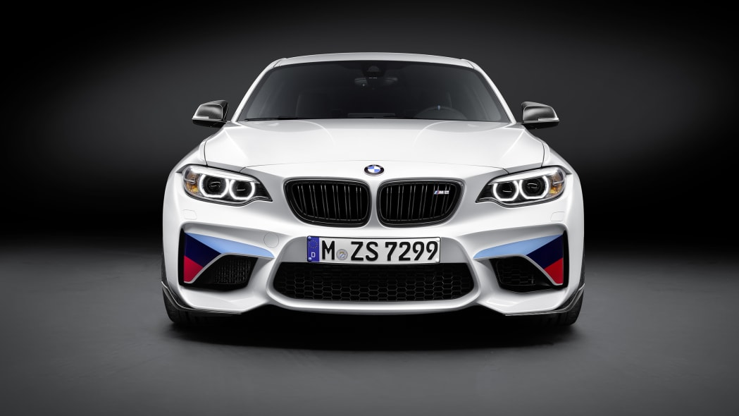 BMW M2 with M Performance Parts front