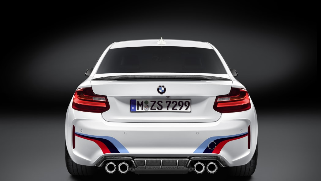 BMW M2 with M Performance Parts rear