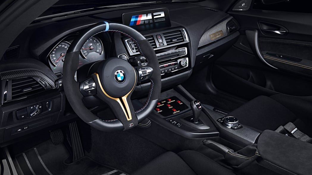 BMW M2 MotoGP Safety Car interior cockpit