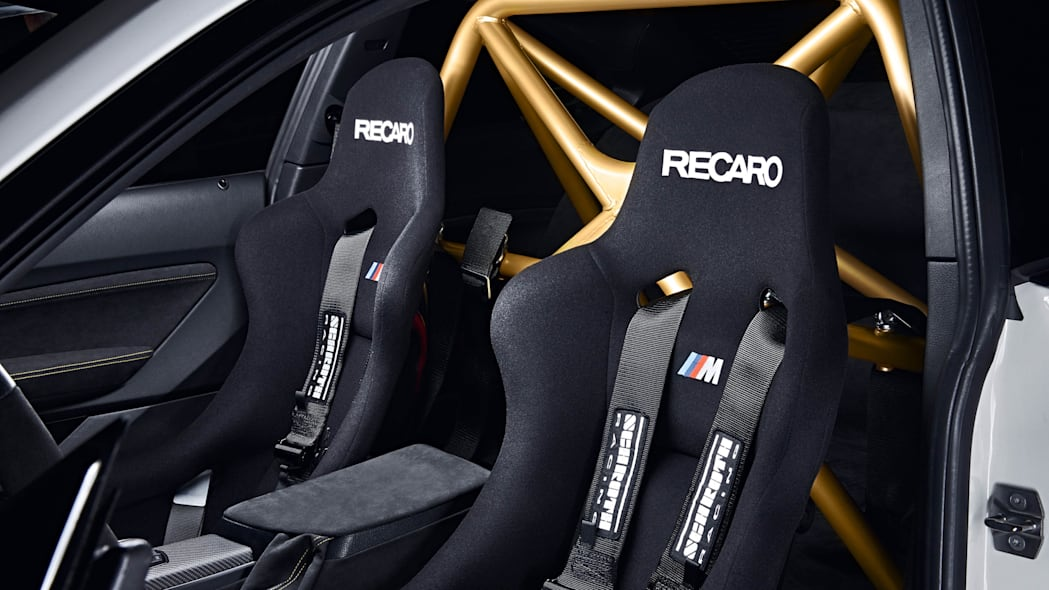BMW M2 MotoGP Safety Car seats