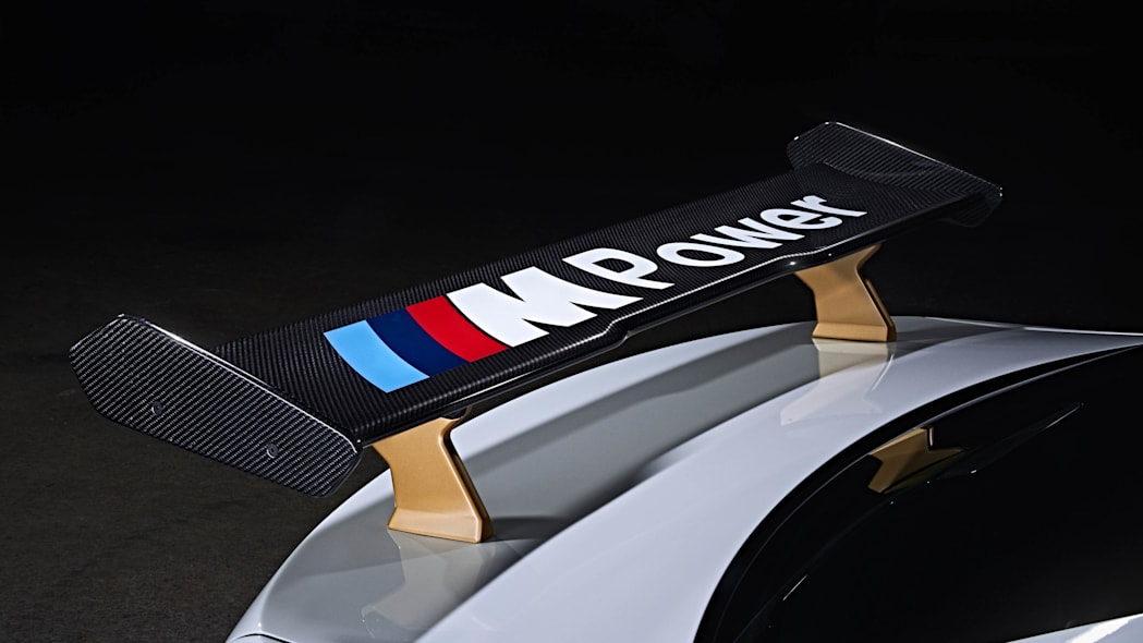 BMW M2 MotoGP Safety Car rear wing