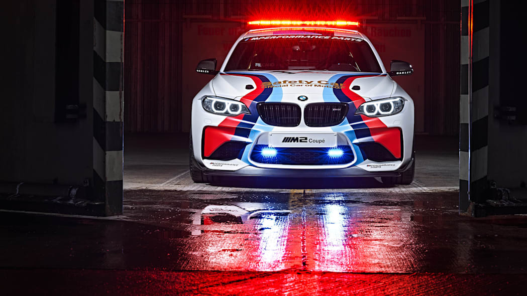 BMW M2 MotoGP Safety Car front