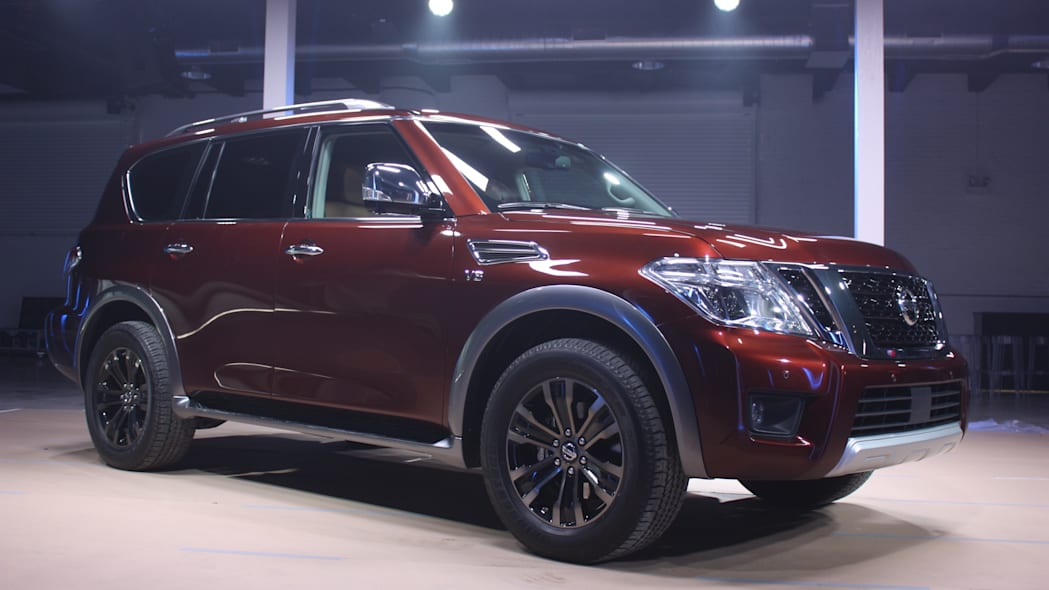 That's not a Patrol, it's the 2017 Nissan Armada