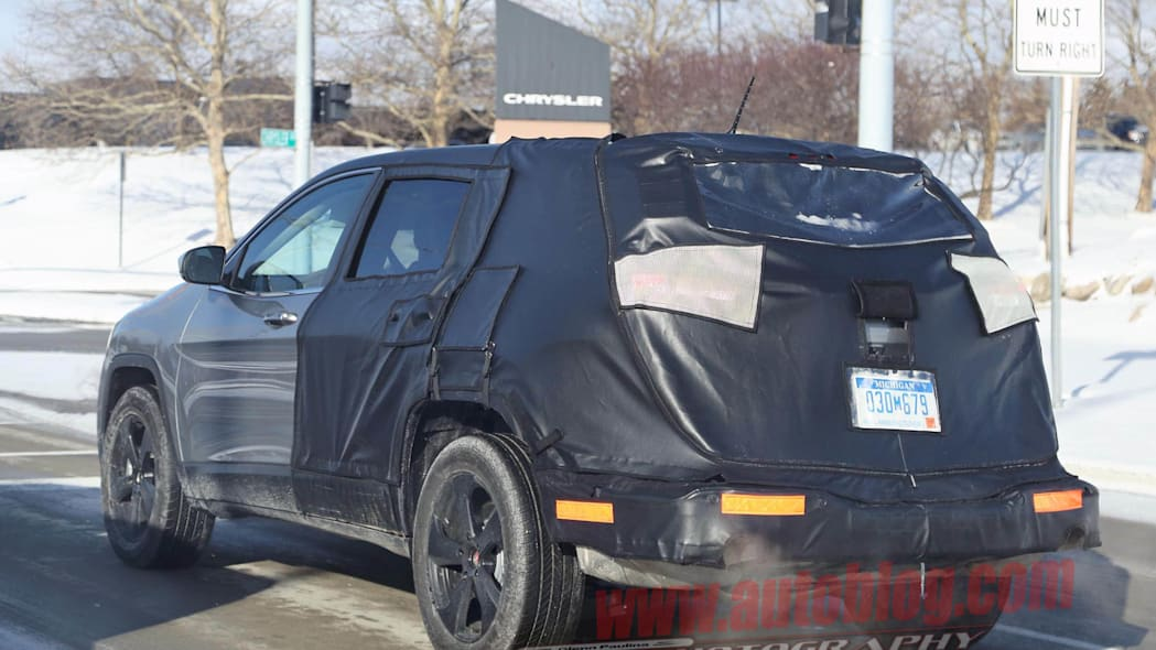 Jeep Cherokee stretched rear 3/4
