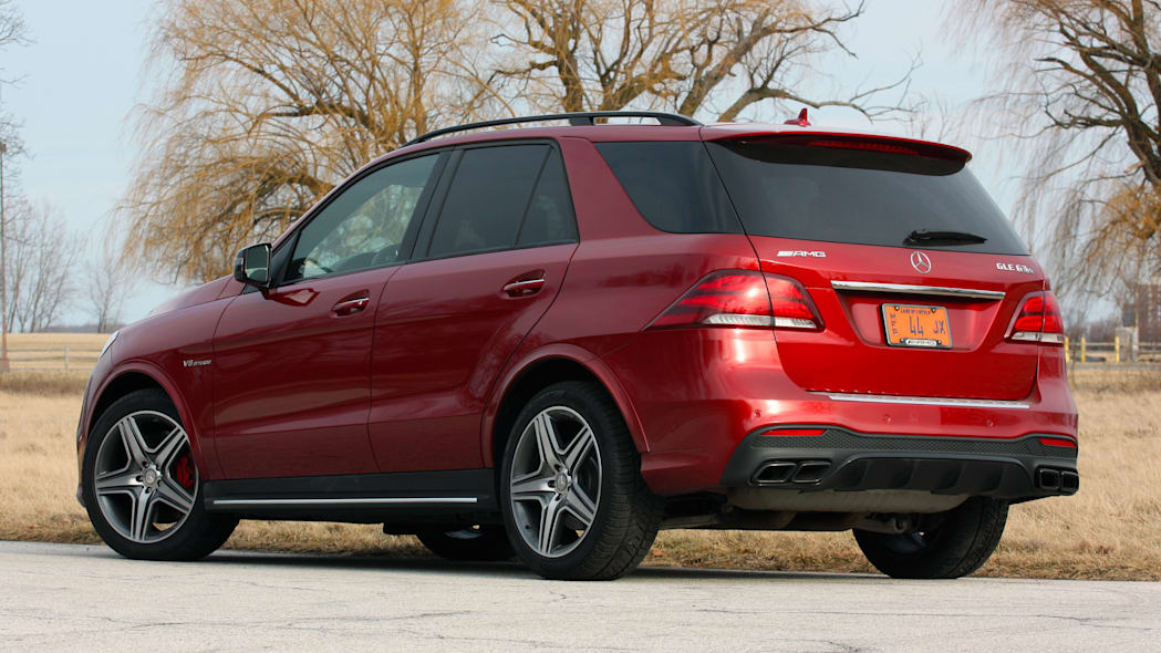 Mercedes-AMG GLE63 S rear view