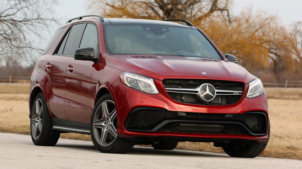 Mercedes-AMG GLE63 S front view