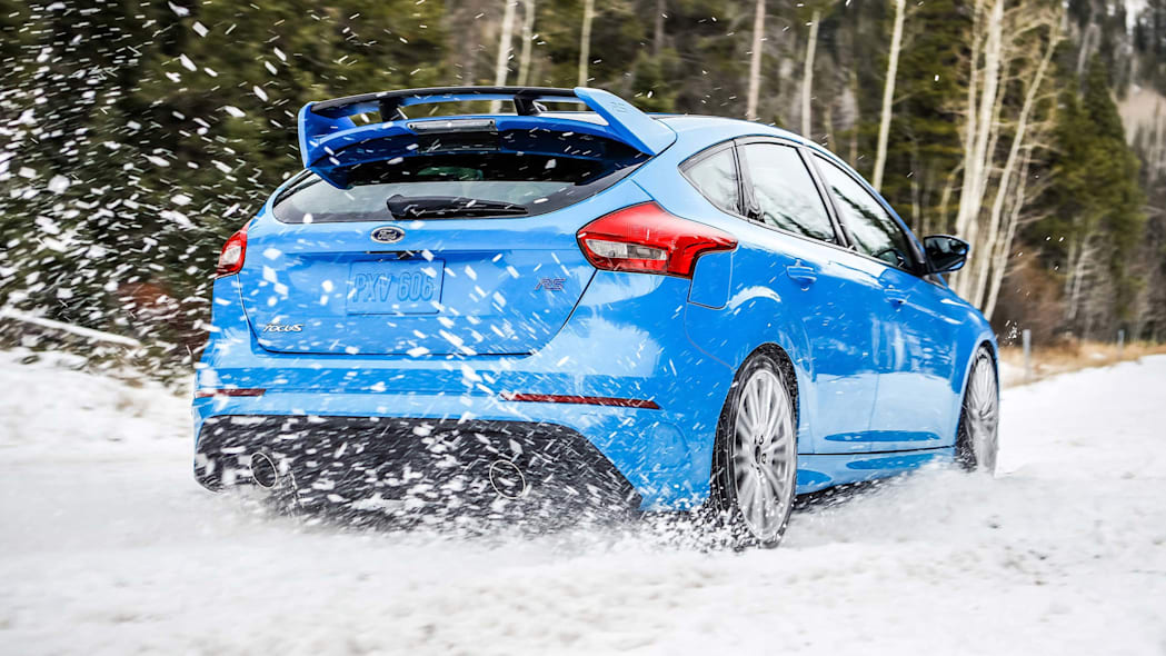 2016 ford focus rs rear 2