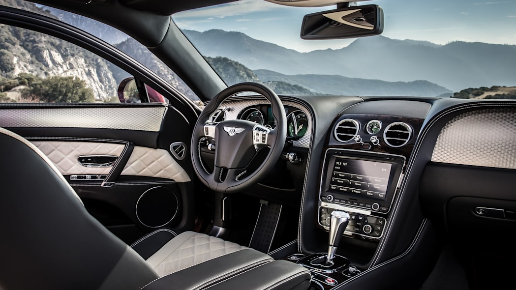 2016 Bentley Flying Spur V8 S interior