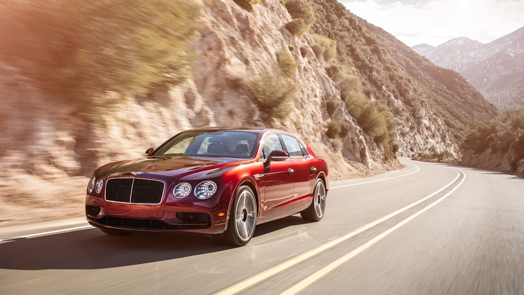 2016 Bentley Flying Spur V8 S front 3/4