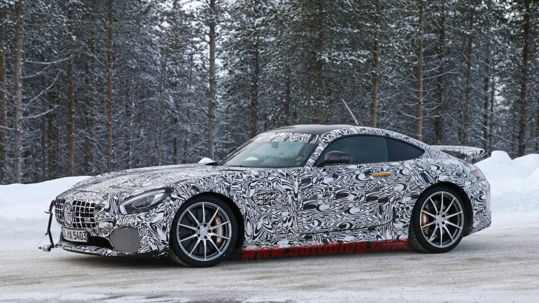 Mercedes-AMG GT R cold weather testing