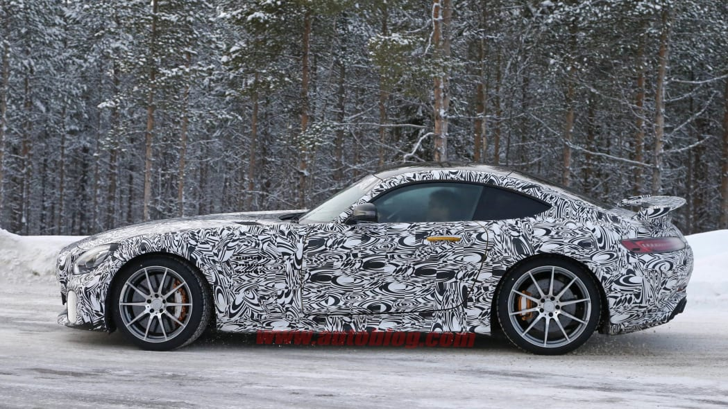 Mercedes-AMG GT R cold weather testing profile