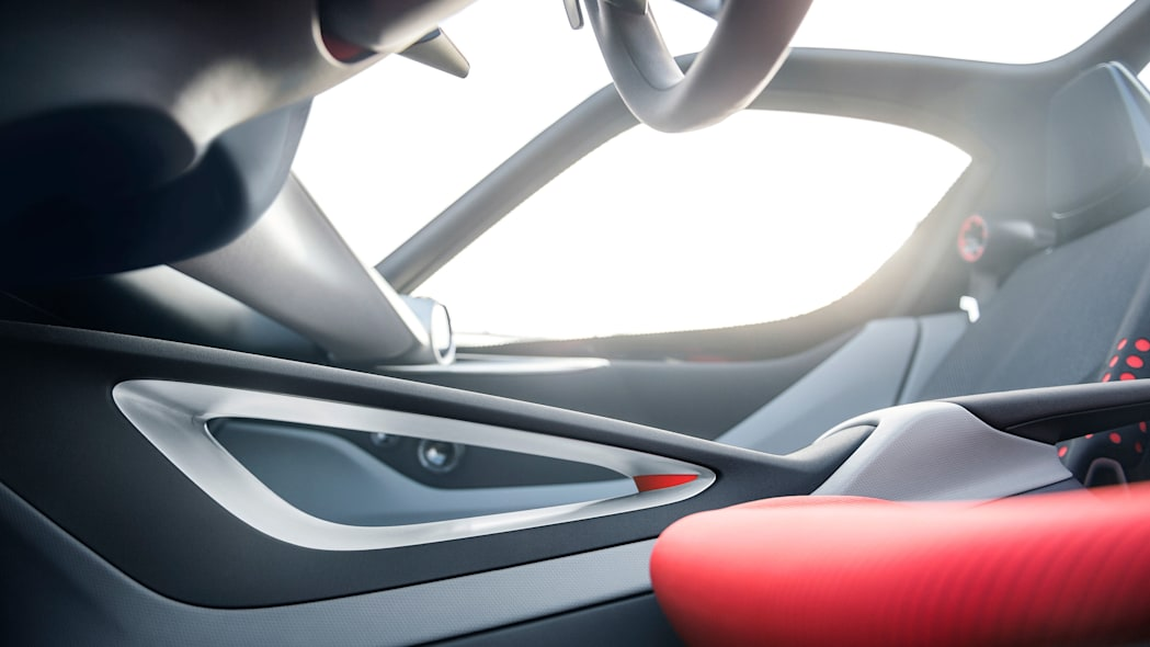 opel gt concept interior low angle