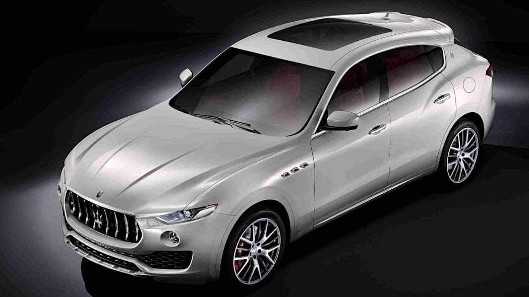 2017 maserati levante production suv