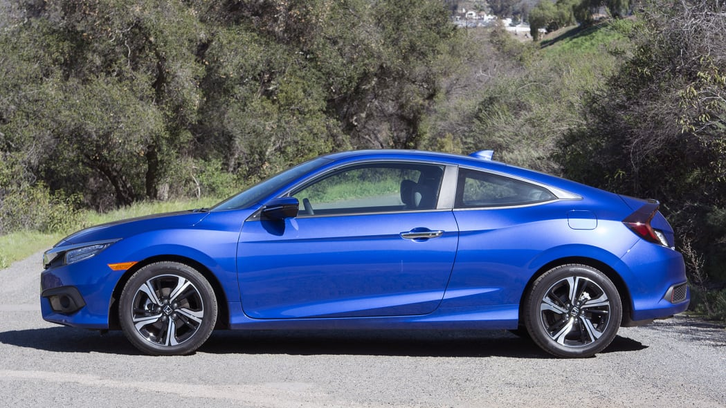 2016 Honda Civic Coupe side view