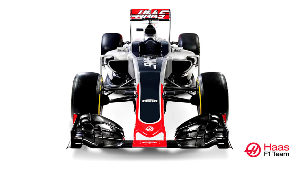 Haas VF-16 front