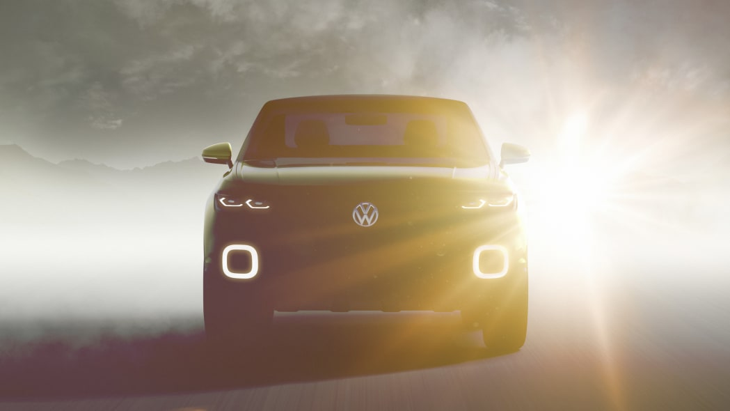Volkswagen small SUV Concept teaser front