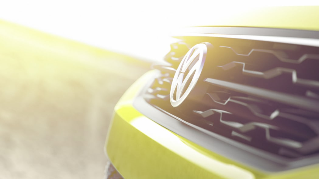 Volkswagen small SUV Concept teaser grille
