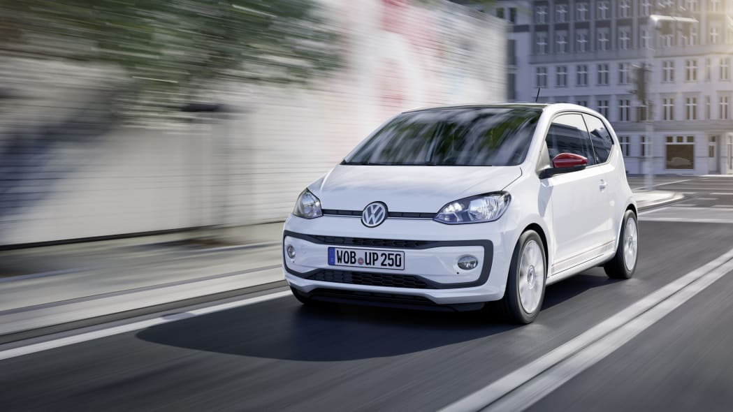 vw up three quarters front