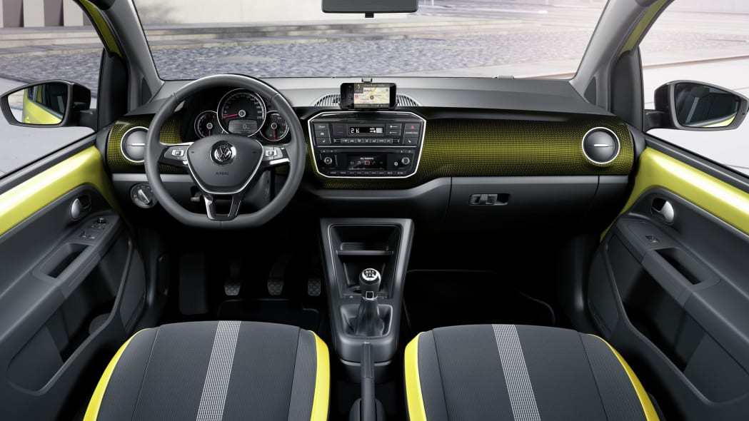 vw up interior front