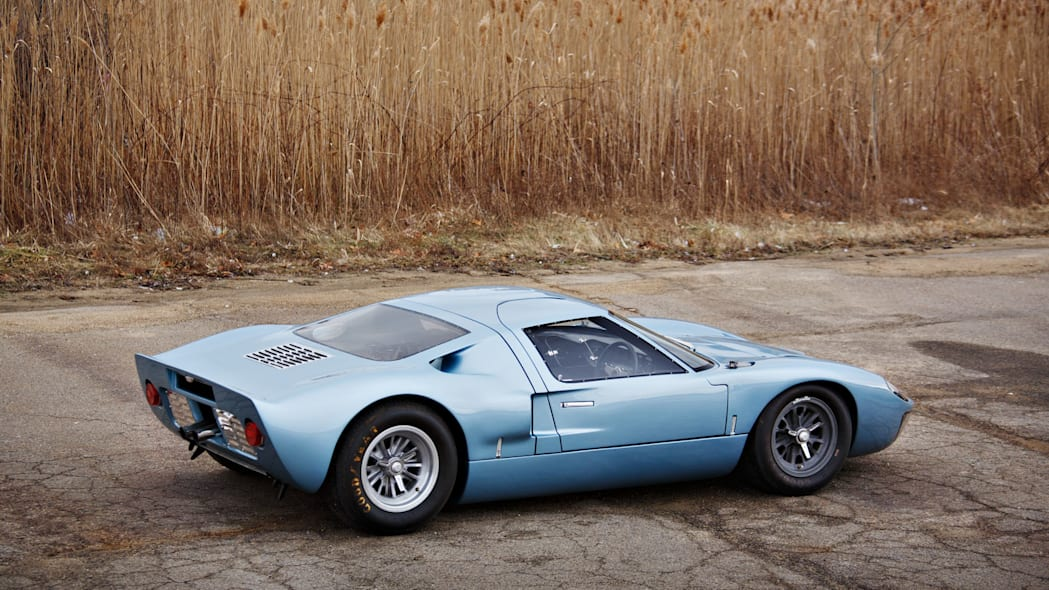 1966 ford gt40 side profile