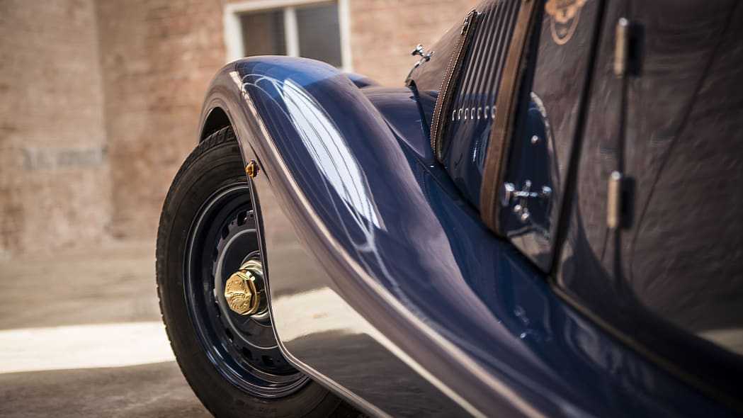 Morgan 4/4 80th Special Edition fender