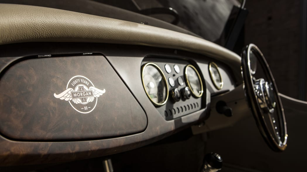 Morgan 4/4 80th Special Edition dashboard
