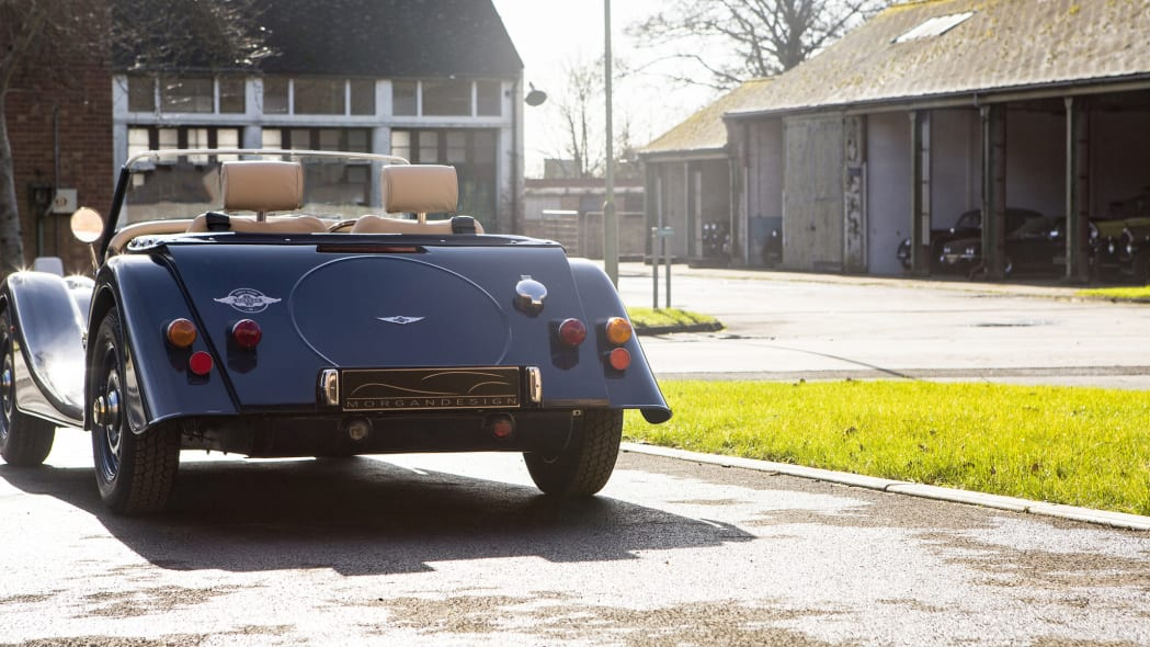 Morgan 4/4 80th Special Edition rear 3/4