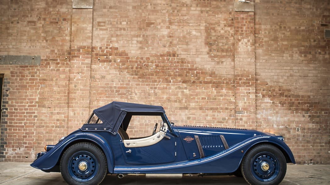 Morgan 4/4 80th Special Edition static profile