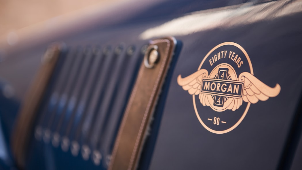 Morgan 4/4 80th Special Edition badge