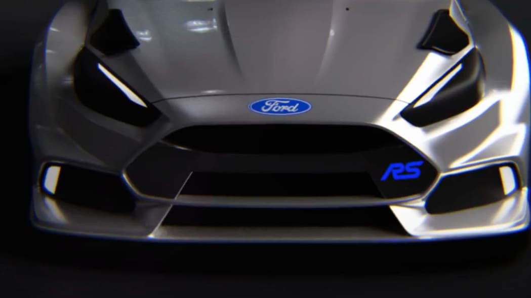 ford focus rs rx front detail