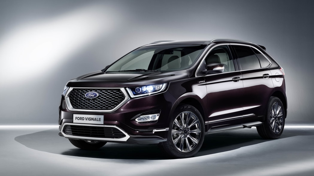 Ford Edge Vignale front 3/4