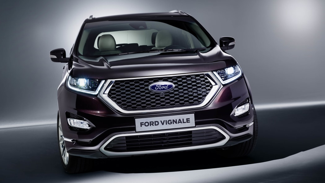 Ford Edge Vignale front