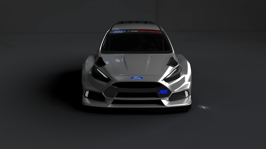 ford focus rs rallycross front